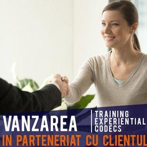 Vanzare in parteneriat cu clientul