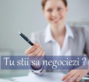 Metode si tehnici eficiente in negociere