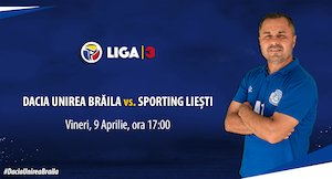 Bilete la  Dacia Unirea Braila - Sporting Liesti