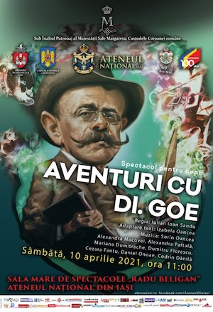 Bilete la  Aventuri cu Dl. Goe