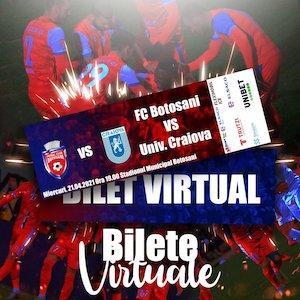 Bilete la  FC Botosani - CSU Craiova