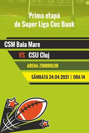 Bilete la  CSM Baia Mare - CSU Cluj