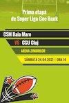 bilete CSM Baia Mare - CSU Cluj