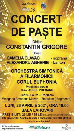 Bilete la  Concert de Paste - Filarmonica RV