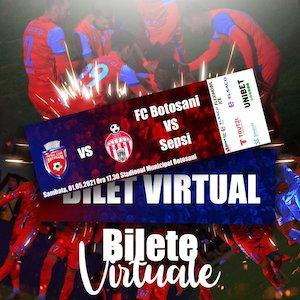 Bilete la  FC Botosani - Sepsi OSK