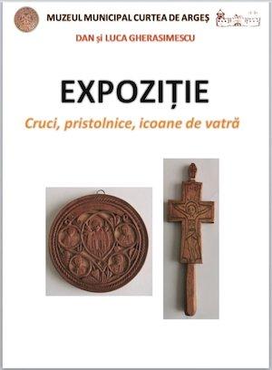 Expozitie Cruci, Pristolnice, Icoane de vatra
