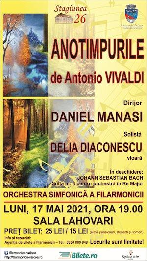 Anotimpurile de Antonio Vivaldi