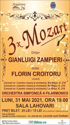 3x Mozart