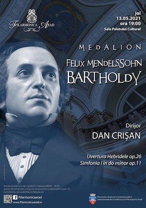 Medalion Felix Mendelssohn Bartholdy