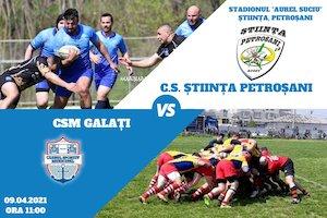 CS Stiinta Petrosani - CSM Galati