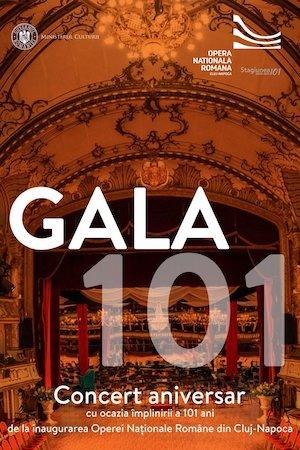 Bilete la  Gala 101
