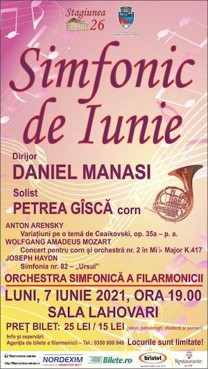 Bilete la  Simfonic de Iunie