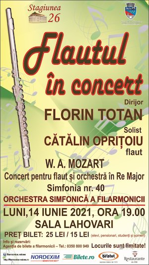 Bilete la  Flautul in concert