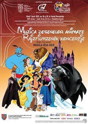 Bilete la  Muzica Desenelor Animate