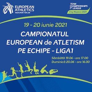 Bilete la  Campionatul European de Atletism pe Echipe Liga I
