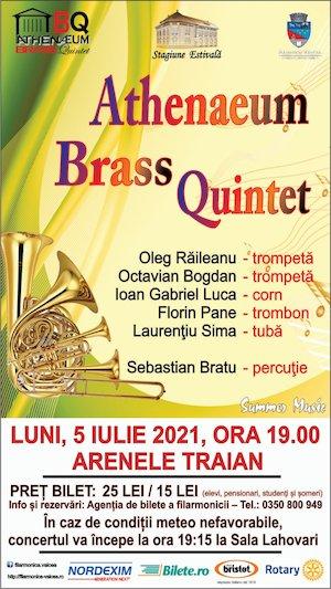 Bilete la  Athenaeum Brass Quintet