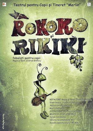 Bilete la  ROKOKO ȘI RIKIKI, fabuliști pentru copii