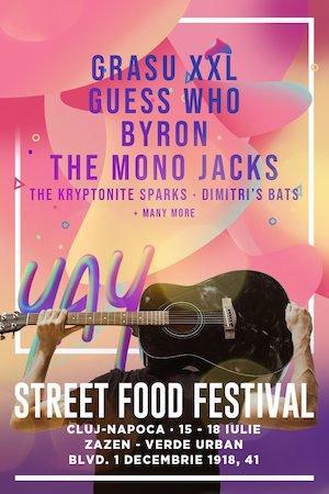Bilete la  Street FOOD Festival Cluj-Napoca