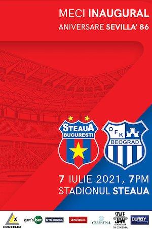 Bilete la  CSA Steaua - OFK Belgrad
