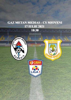 Bilete la  Gaz Metan Medias - CS Mioveni - Casa Liga 1