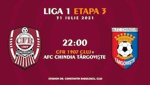 CFR 1907 Cluj - Chindia Targoviste - Casa Liga1