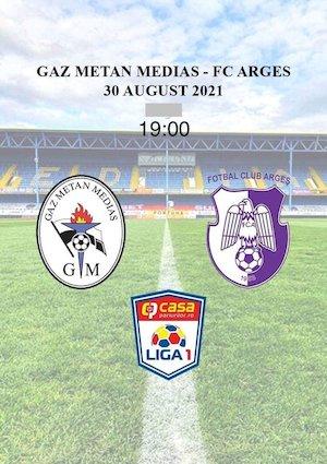 Bilete la  Gaz Metan Medias - FC Arges - Casa Liga 1