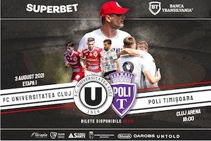 FC Universitatea Cluj - SSU Politehnica Timisoara
