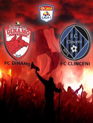 FC Dinamo Bucuresti - FC Academica Clinceni - Casa Liga 1