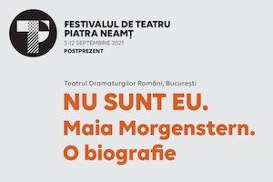 NU SUNT EU. Maia Morgenstern. O biografie