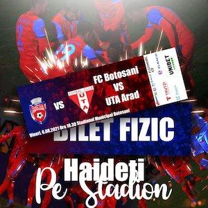 Bilete la  FC Botosani - UTA Arad - Casa Liga 1