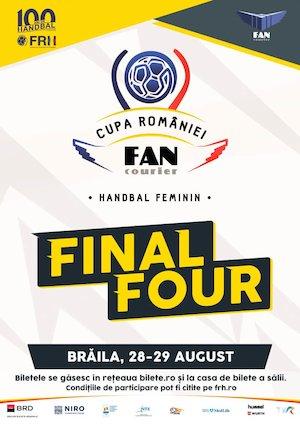 Bilete la  Final Four Cupa Romaniei Fan Courier - Handbal Feminin