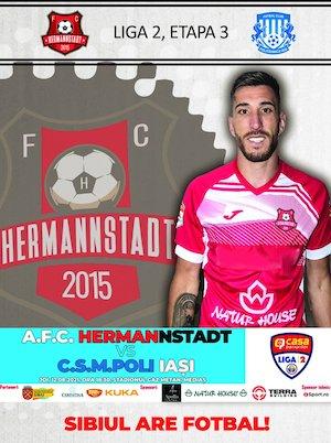 Bilete la  AFC Hermannstadt - Poli Iasi