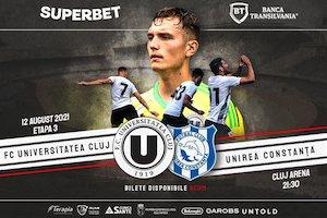 Bilete la  FC Universitatea Cluj - AFC Unirea Constanta
