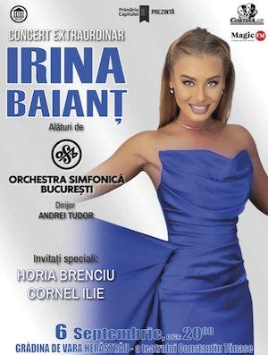 Bilete la  Concert Extraordinar - Irina Baiant
