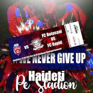 Bilete la  FC Botosani - FC Rapid Bucuresti - CASA Liga 1