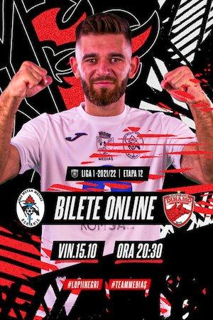 Bilete la  Cs Gaz Metan Medias - FC Dinamo Bucuresti - CASA Liga 1