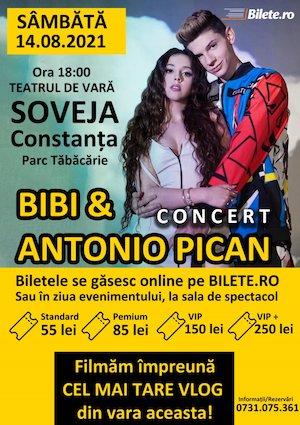 Bilete la  Concert Bibi&Antonio Pican