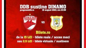 Bilete la  Sustine Programul DDB
