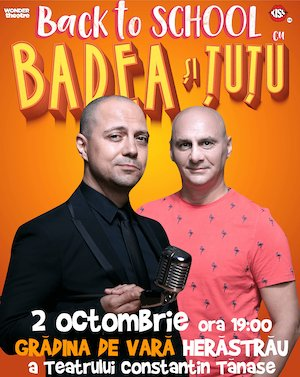 Back to school - Badea si Tutu