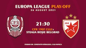 Bilete la  UEFA Europa League - CFR Cluj - Steaua Rosie Belgrad