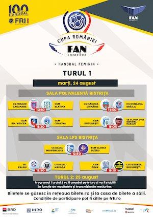Bilete la  Cupa Romaniei Fan Courier - Handbal Feminin