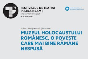 Bilete la  MUZEUL HOLOCAUSTULUI ROMÂNESC, o poveste care mai bine rămâne nespusă