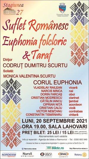 Bilete la  Suflet Romanesc - Euphonia Folcloric si Taraf