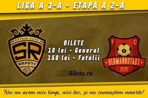 Bilete la  SR Brasov - AFC Hermannstadt