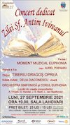 bilete Concert dedicat zilei Sf. Antim Ivireanul