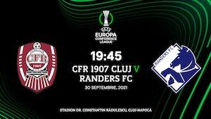 UEFA Conference League - CFR Cluj - Randers