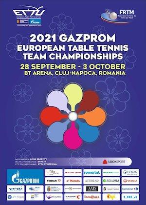 Bilete la  GAZPROM - European Table Tennis Team Championships