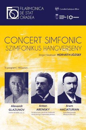 Concert Glazunov, Arensky, Haciaturian