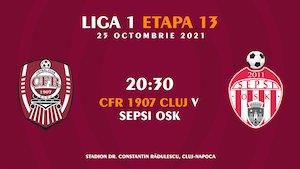 CFR 1907 Cluj - Sepsi OSK - CASA Liga 1
