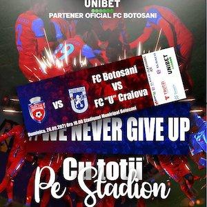 Bilete la  FC Botosani - FC U Craiova 1948